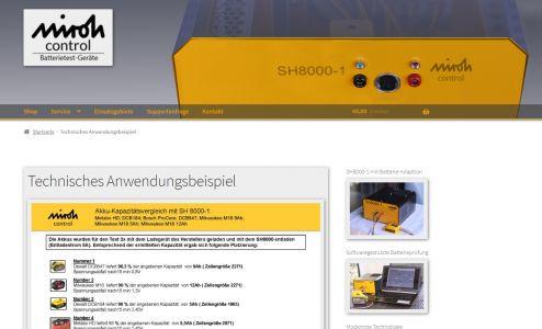MIROH Control Batterietester